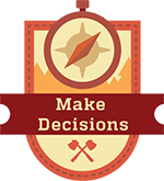 Icon: Make Decisions
