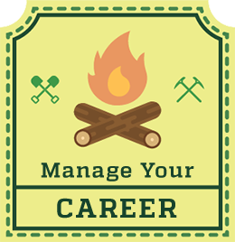 Manage Your Career badge