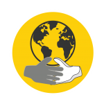 nonprofit and government academy icon