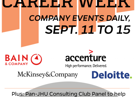 flyer for consulting week