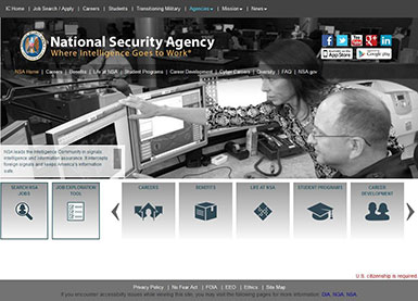 NSA website