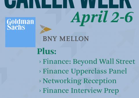 Finance Week April 2-6 Flyer