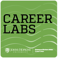 Green icon with Career Lab text