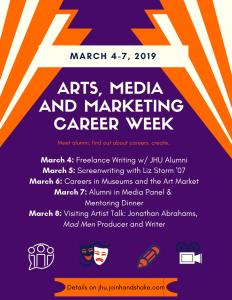 arts media and marketing week
