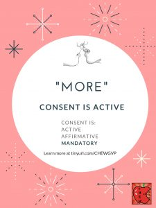 """More."" Consent is active."