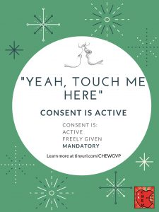"""Yeah, touch me here."" Consent is active."