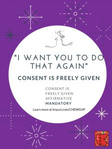 """I want you to do that again."" Consent is freely given."