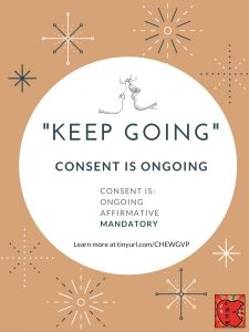 """Keep going."" Consent is ongoing."