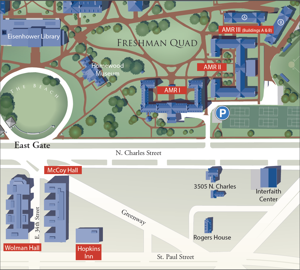 johns hopkins university campus map Explore Our Residence Halls Community Living johns hopkins university campus map
