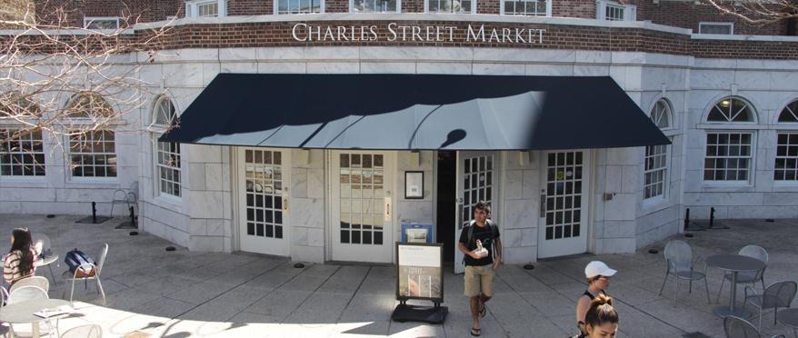 Charles Street Market exterior