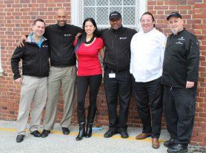 Group photo of Bon Appetit team