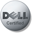 Dell certified logo