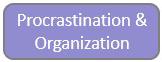 Procrastination & Organization