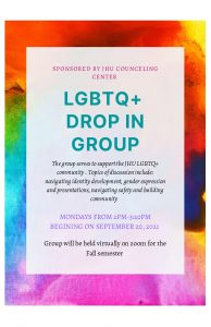 LGBTQ+ Discussion Group @ Zoom