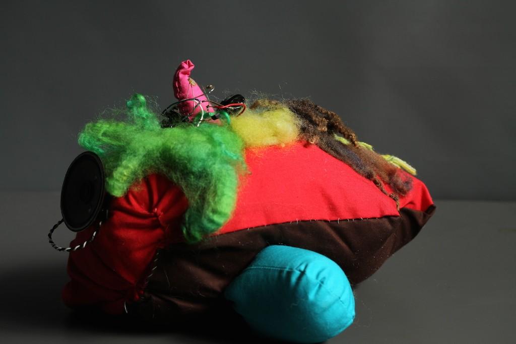 Mergatrudes Children 2 interactive soft sculpture