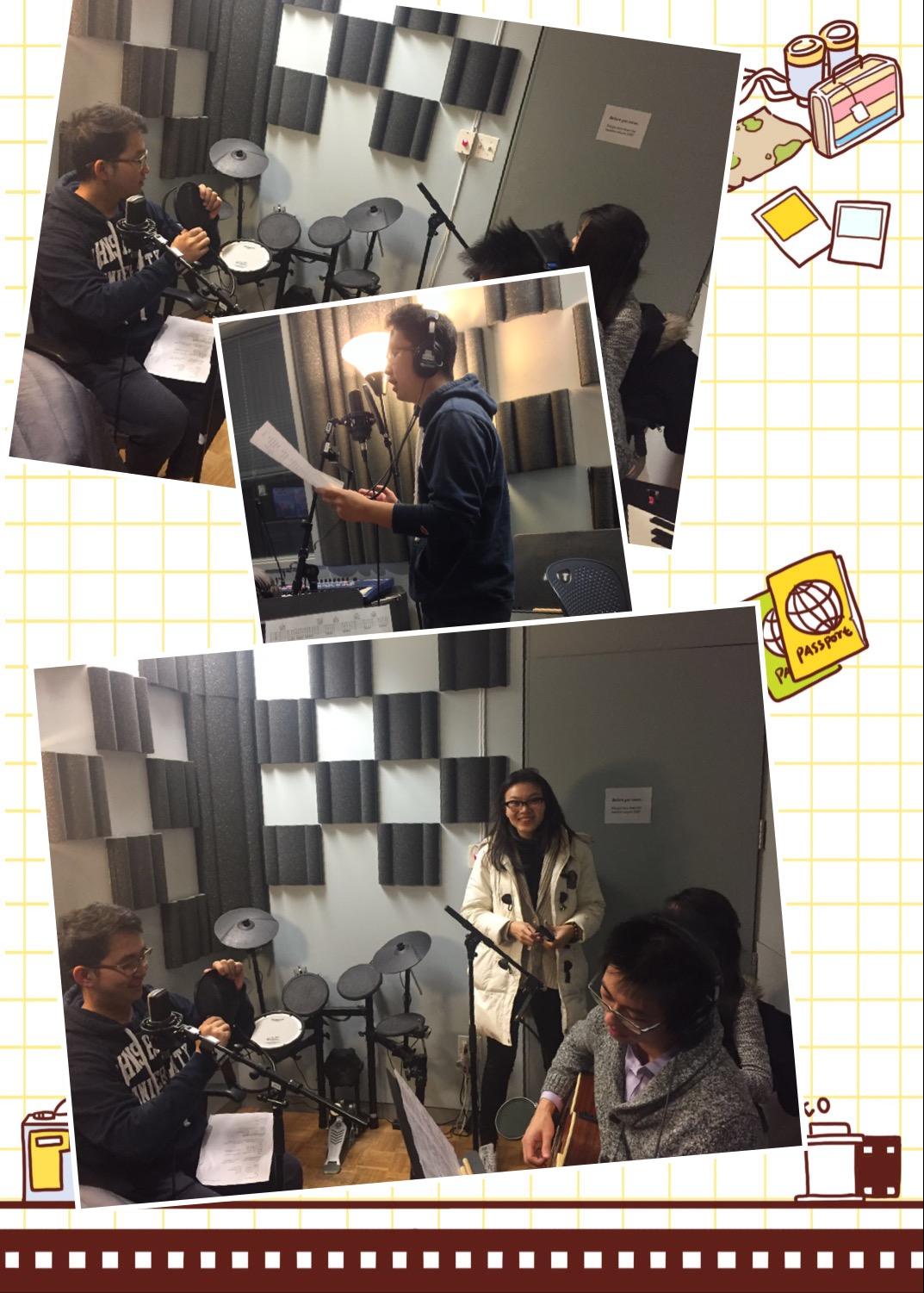 Nan Shan Nan Recording Session
