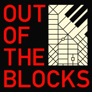 """Out of the Blocks"" logo"