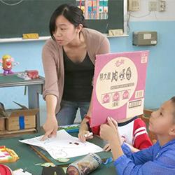 Carolyn teaching