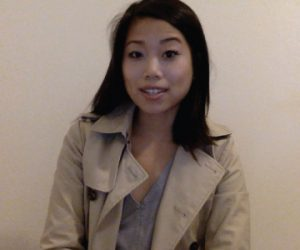 Screen capture of Ruthie from her Fulbright video.
