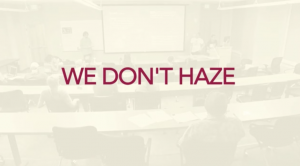 "Screenshot of video with title ""We Dontt Haze"" displaying"