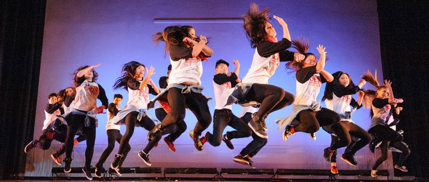 Slam Dance Group performing