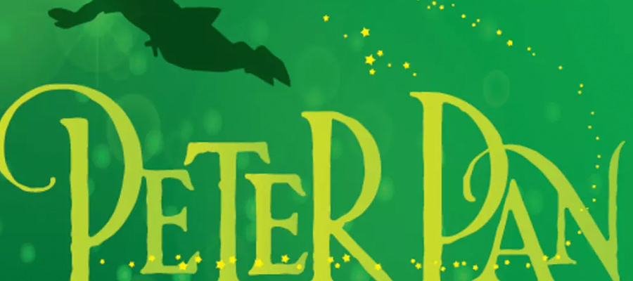 """Peter Pan"" title graphic"
