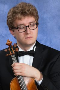 Colin McGregor, violin, 2018 HSO Concerto Competition Winner