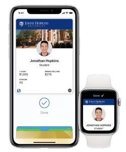 iPhone and Apple Watch displaying J-Card.