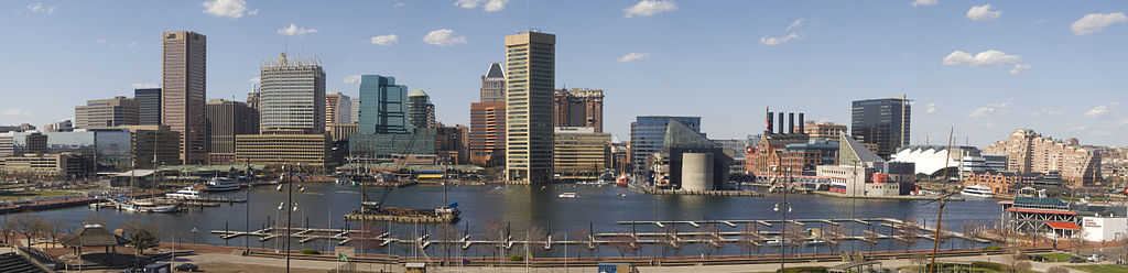 Baltimore Skyline, Inner Harbor