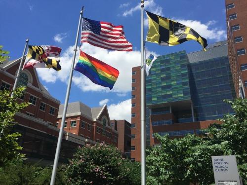 JH Hospital Pride Flag