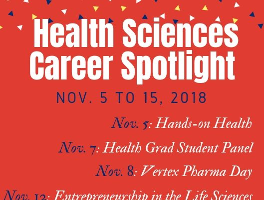 Nov  5-15: Health Sciences Career Spotlight | Life Design Lab