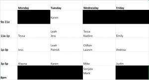 updated fall 2021 schedule