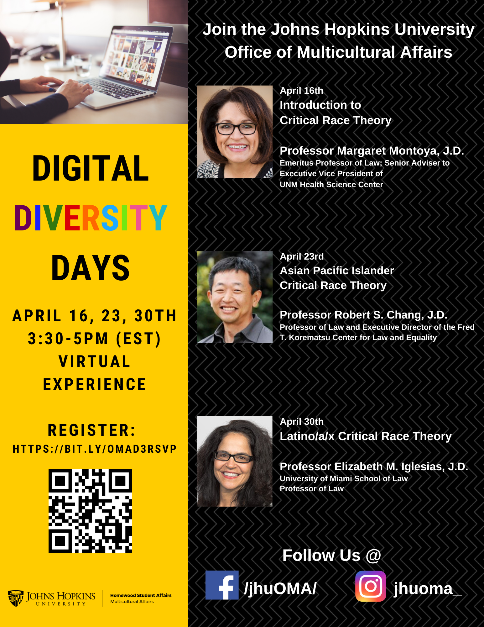 Digital Diversity Day S Latino A X Critical Race Theory Multicultural Affairs