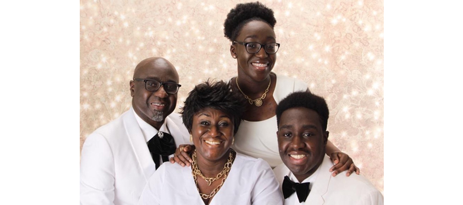 Opoku-Achampong family picture.