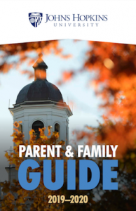 Cover of 2019-20 Parent & Family Guide.