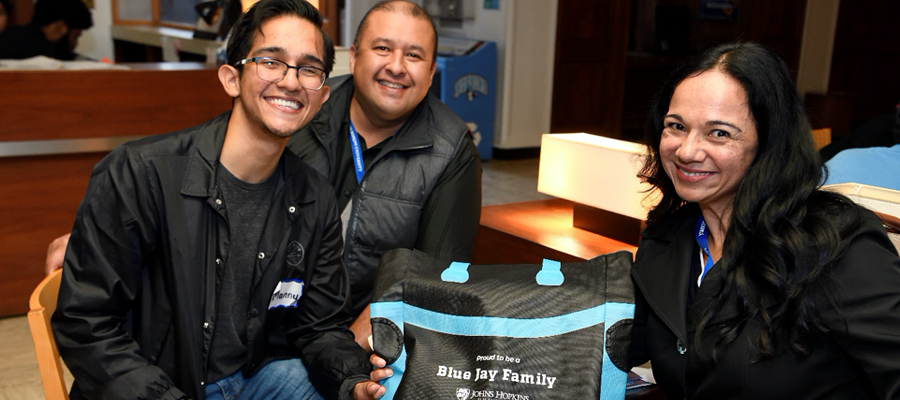 Blue Jay Family with Blue Jay Family tote bag