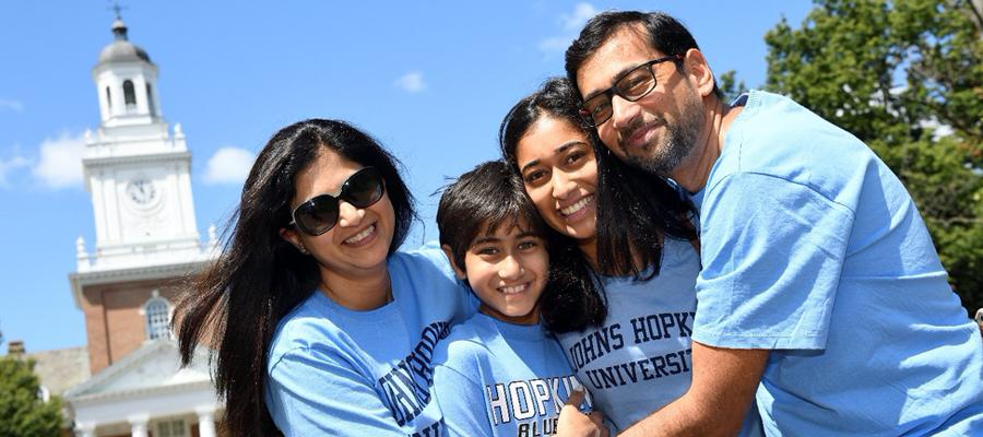 Blue Jay Family Group Hug