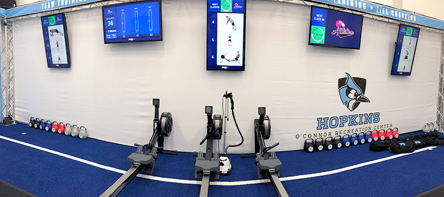 F45 equipment and technology