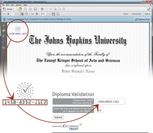 CeDiploma Screenshot