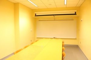 A Conference room in Gilman Hall
