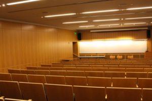 Auditorium in Gilman Hall