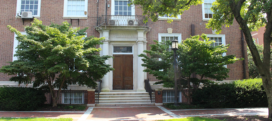 front of maryland hall