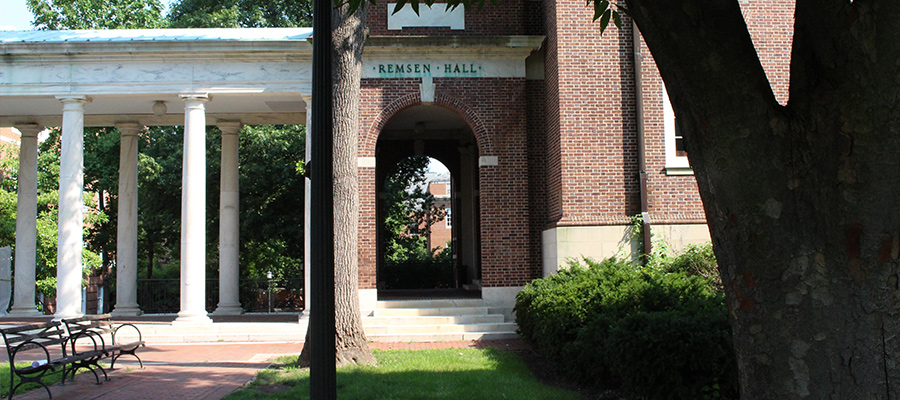 front of remsen hall