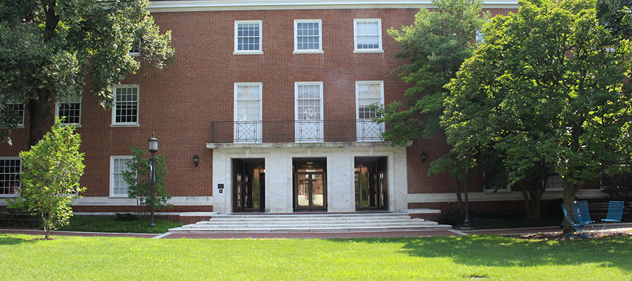front of shaffer hall