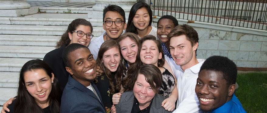 2016 peer mentors group photo