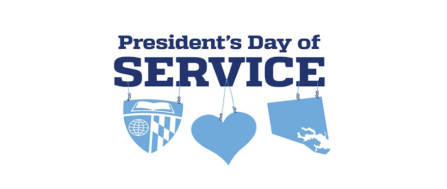 President's Day of Service Logo