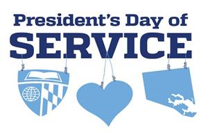 President's Day of Service Logo