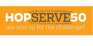 HopServe50 logo