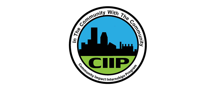 picture of community impact internships program logo