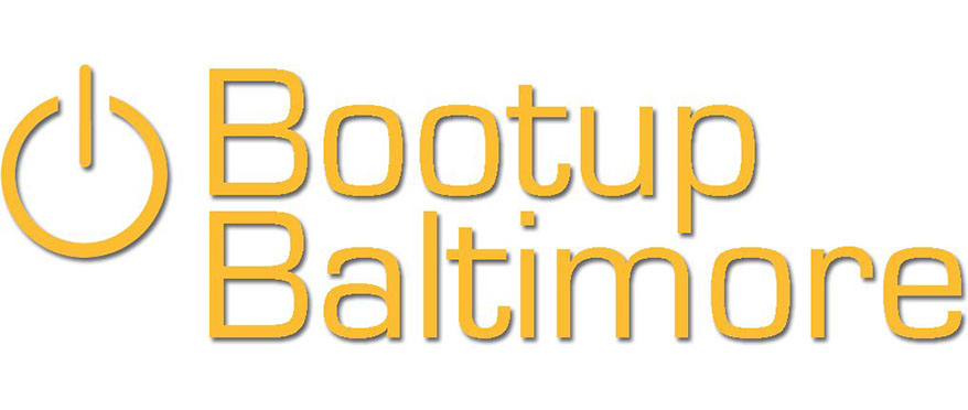 JHU center for social concern student initiative, bootup baltimore, logo